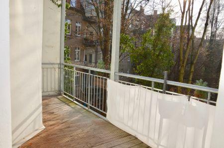 Balkon von der Küche aus begehbar